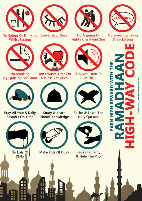 Ramadaan Highway Code