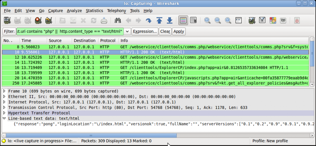 Wireshark Filters